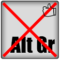 No right alt keyboard donation icon