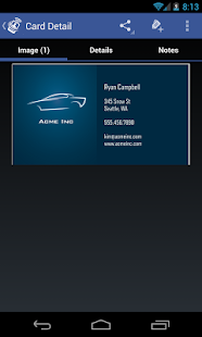 CardToContact Card Reader- screenshot thumbnail