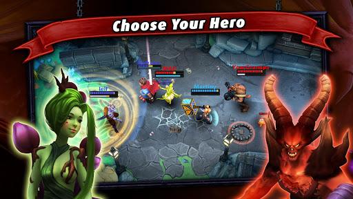 Heroes of SoulCraft - MOBA  screenshots 11