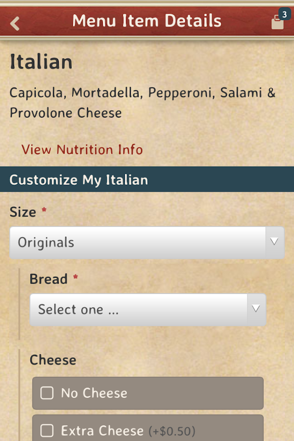 Potbelly Sandwich Shop- screenshot