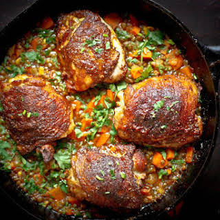Crispy Berbere Chicken.