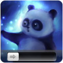 Blue Baby Panda HD Go Locker icon