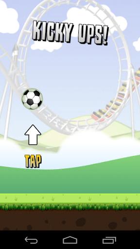 Football Keepy ups Soccer Game