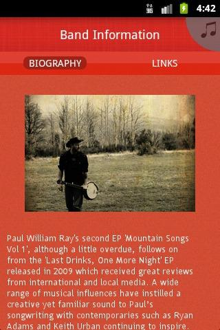 Paul William Ray - screenshot