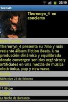 Screenshot of Calendario de eventos de Peru