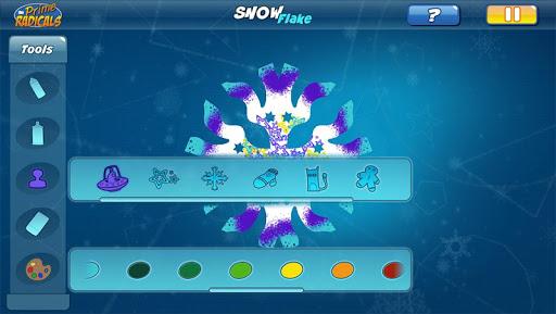 Prime Radicals Snowflakes