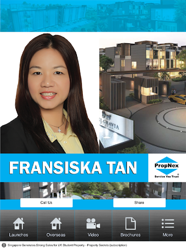 Fransiska Real Estate Agent