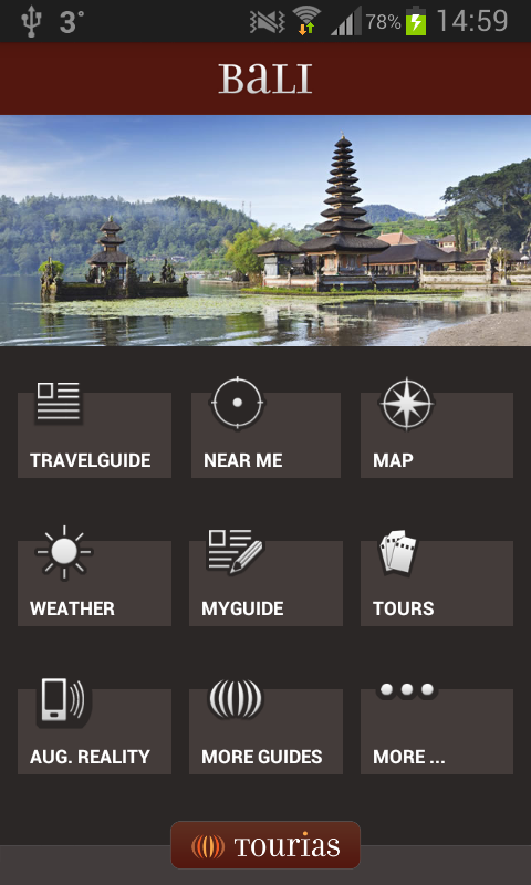 Bali Travel Guide - Tourias - screenshot