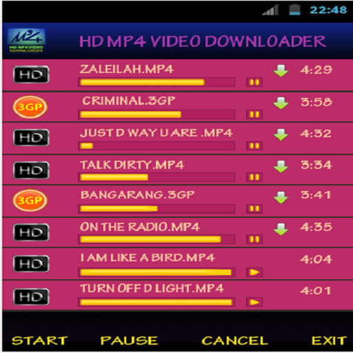 HD MP4 Video Downloader - screenshot