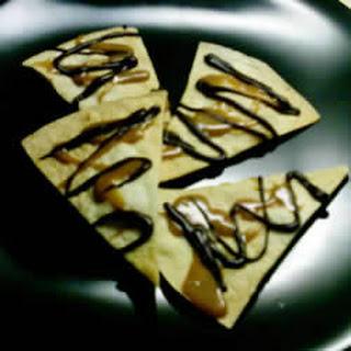 Chocolate-Caramel Tortillas