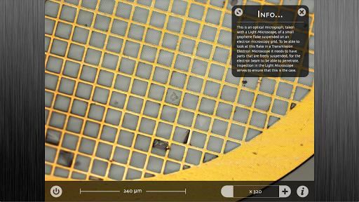 Graphene Virtual Microscope