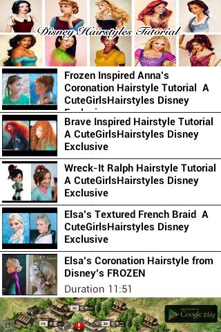 Disney Hairstyles Tutorial