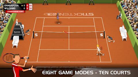 Stick Tennis Screenshot 3