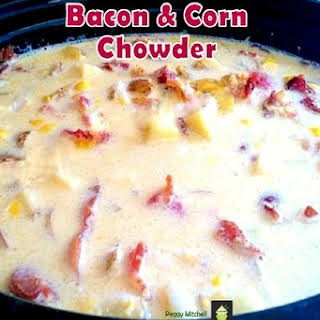 Crock Pot Corn Chowder.