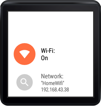 Wifi Manager for Android Wear