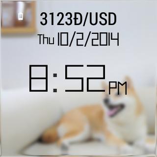 Dogecoin Shibe Watch Face