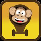 Cannonball Monkey Free icon