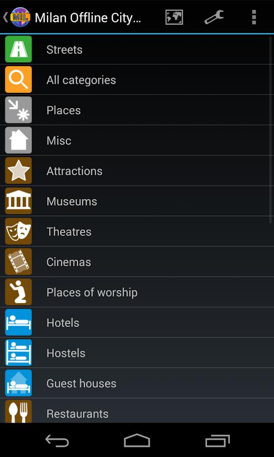 Milan Offline City Map - screenshot