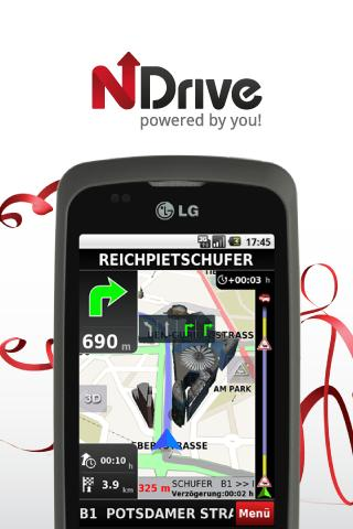 NDrive Scandinavia - screenshot