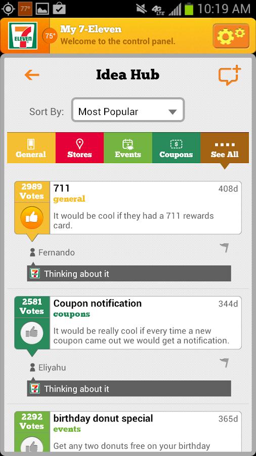 7-Eleven, Inc. - screenshot