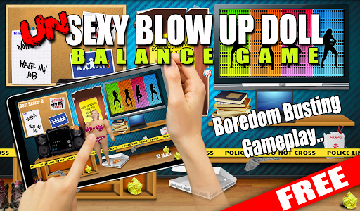 UnSexy BlowUp Doll Bounce Game