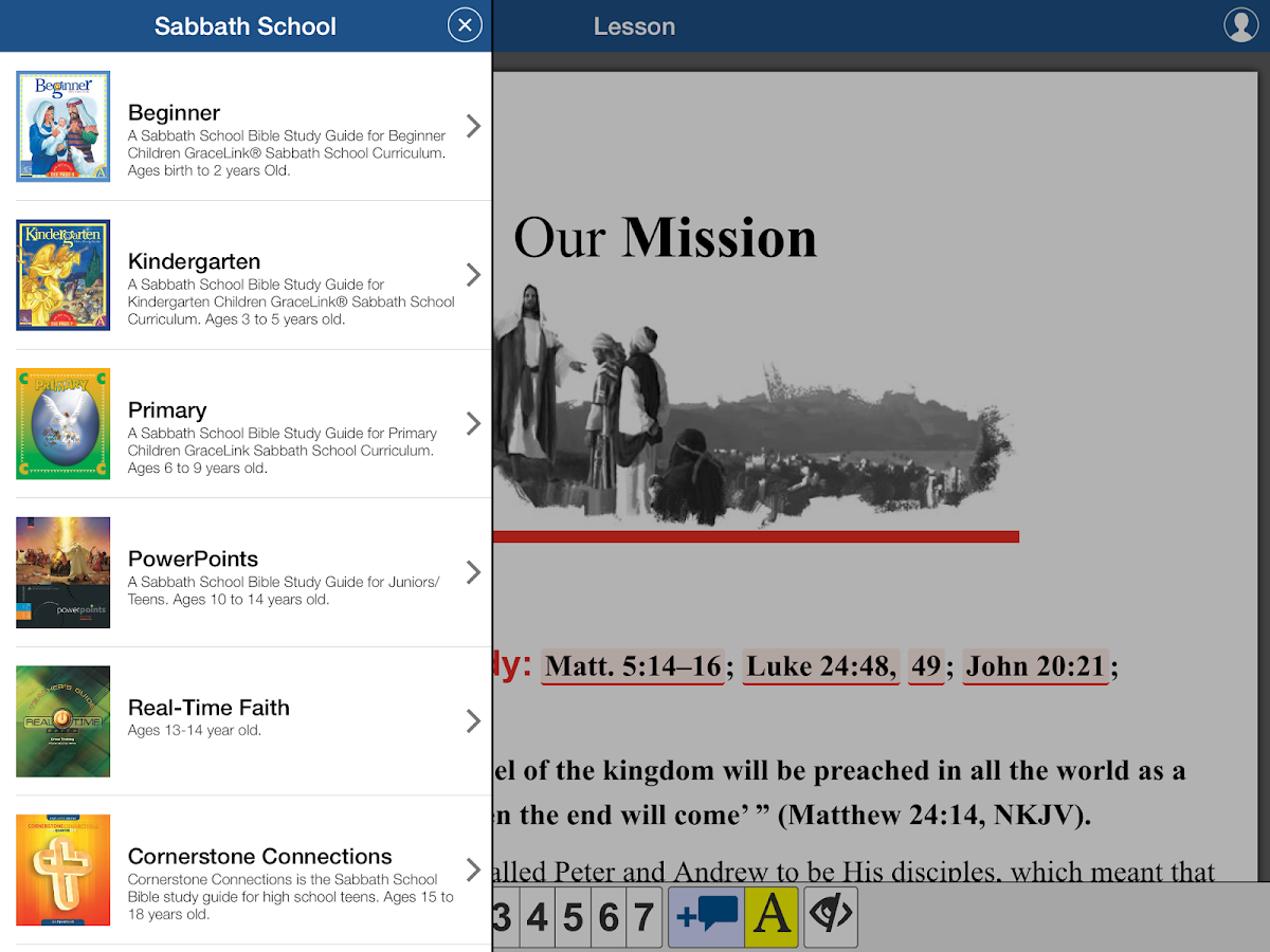 Sabbath School 4- screenshot