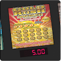 =GOLD RUSH DOUBLER Lotto Card= icon