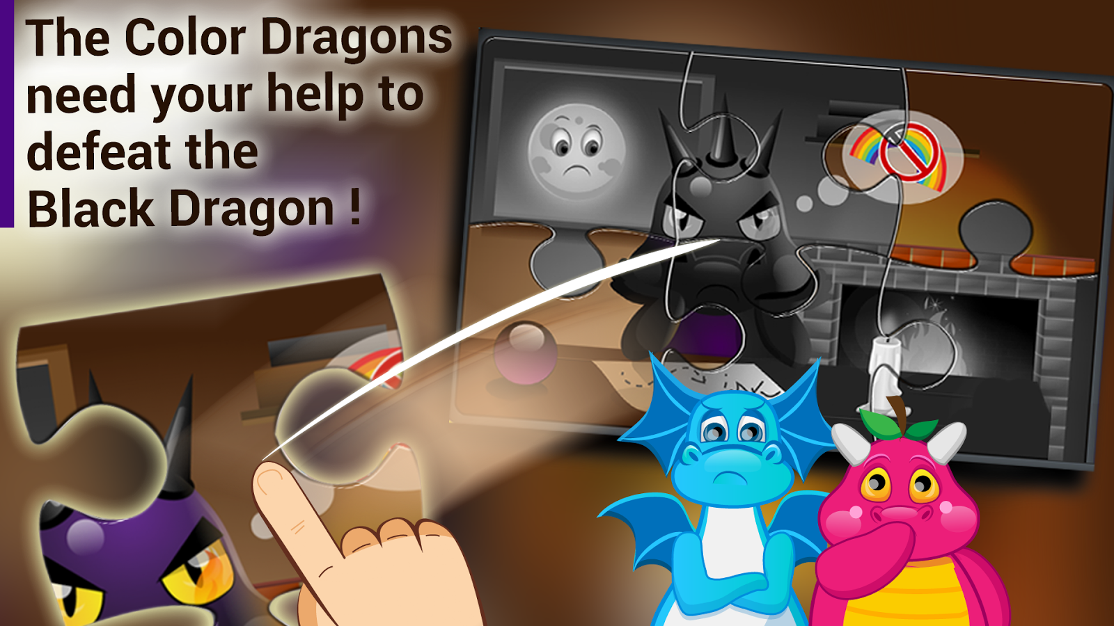 Candy Dragons Adventures Free- screenshot
