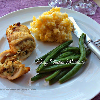 Easy Chicken Roulade