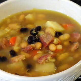 Puerto Rican Chuletón Soup AKA Xmas Soup.