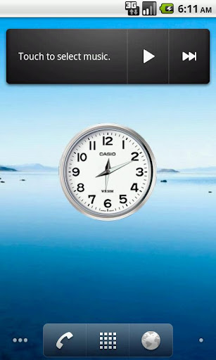 時鐘小工具