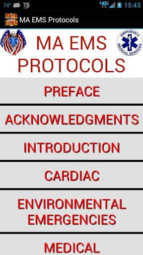 DEMO - MA EMS Protocols