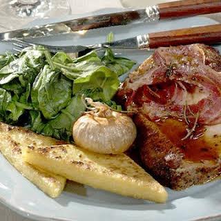 Pancetta-Wrapped Pork Roast.