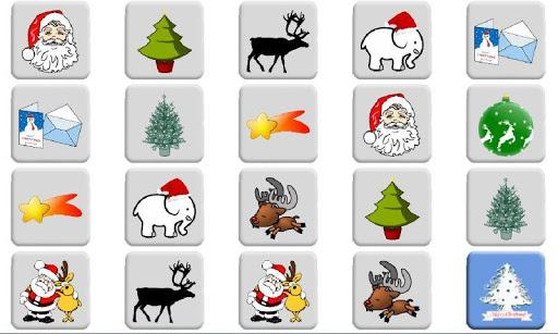クリスマスマッチングペアゲーム