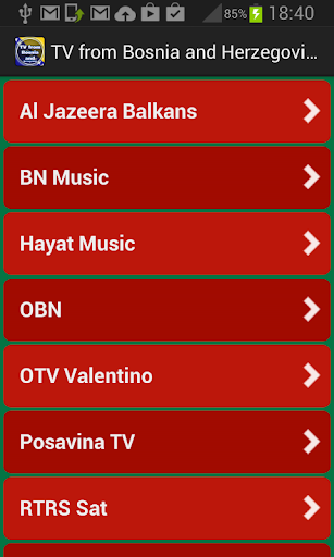 TV from Bosnia and Herzegovina