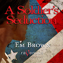 EM BROWN A SOLDIER'S SEDUCTION logo