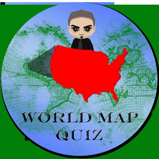 World Map Quiz LOGO-APP點子