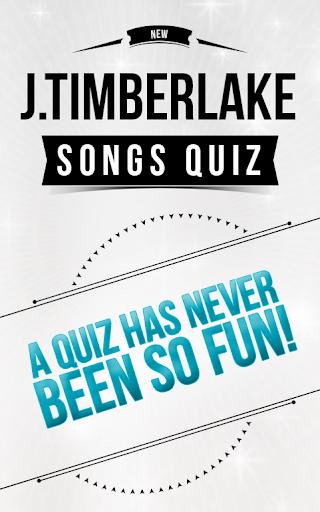 Justin Timberlake - Songs Quiz
