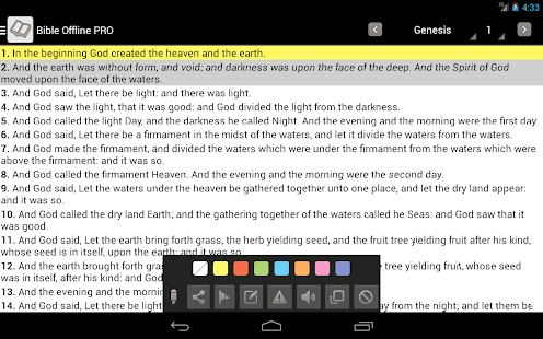 Bible Offline PRO - screenshot thumbnail