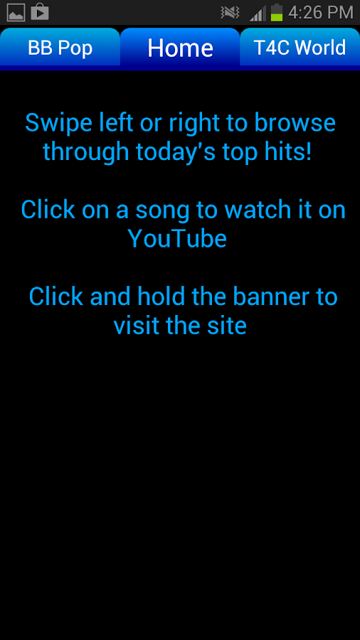 Music Central: Top Hits - screenshot