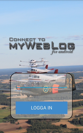 Connect to myWebLog