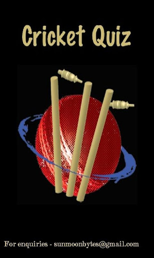 Cricket Quiz Game