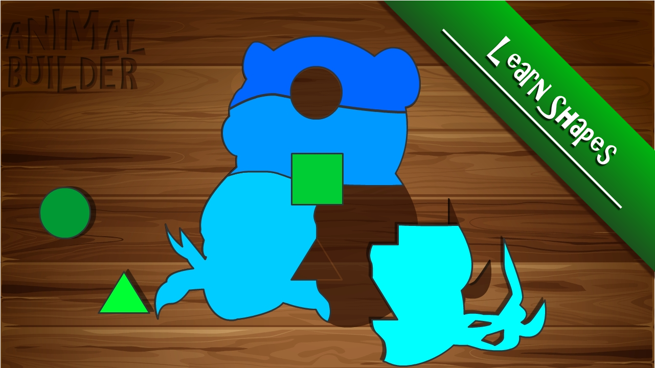 Kids Puzzle Animal Builder- screenshot