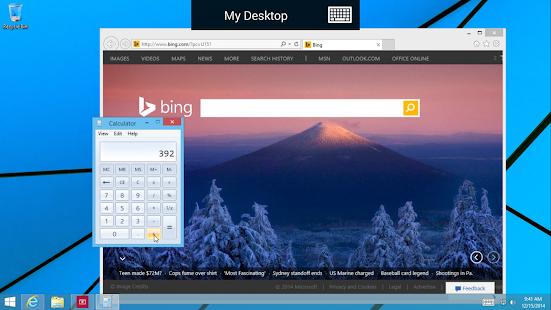 Microsoft Remote Desktop Beta Screenshot 3