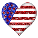 FREE American Heart Sticker icon