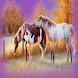 Autumn Horses Live Wallpaper