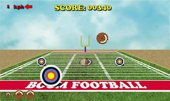 Screenshot of Boom Football Challenge