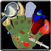 Monster Hand Doctor kids games