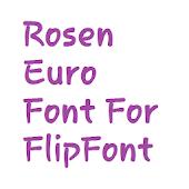 Rosen Euro Flipfont