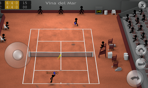 Stickman Tennis Screenshot 1